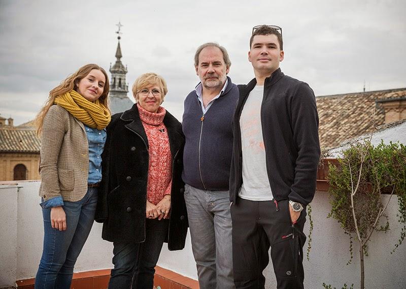El equipo de miradas con María Antonia Ricas