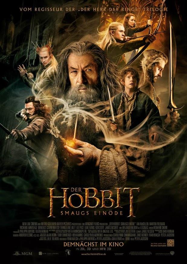 Der Hobbit - Smaugs Einöde -Plakat