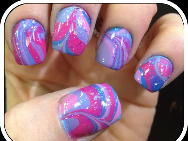Day 92 - Spring Water Marble