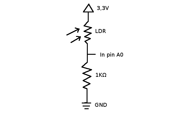 Space Tinkerer\'s Lab: Using an LDR (Light Dependent Resistor) with ...