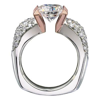 Tension Wedding Ring 53 New Tension Setting Ring Gelin