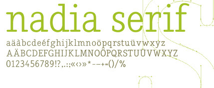 25+ Ultimate Collection of High Quality Free Fonts For Designers- Nadia Serif