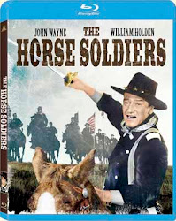 The Horse Soldiers Blu-Ray Front