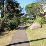 Well used footpath in Cremorne Reserve (259091)