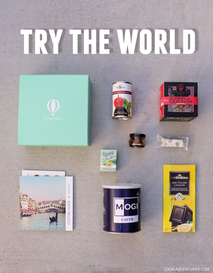 Try the World - Best Food and Travel Subscription Box.