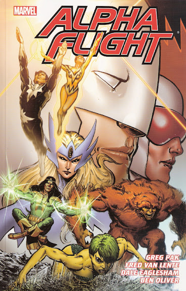 Alpha Flight: The Complete Greg Pak and Fred Van Lente Series cover