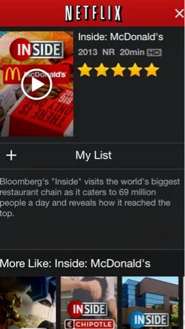 Fast Food Movies On Netflix