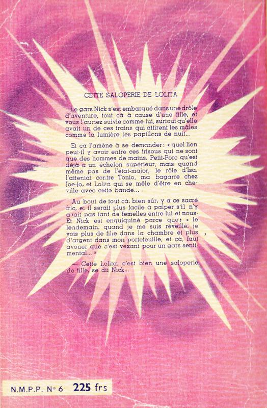 Couverture de polar vintage : Cette saloperie de Lolita par Chriss FRAGER (Les grands romans noirs) - Pour vous Madame, pour vous Monsieur, des publicités, illustrations et rédactionnels choisis avec amour dans des publications des années 50, 60 et 70. Popcards Factory vous offre des divertissements de qualité. Vous pouvez également nous retrouver sur www.popcards.fr et www.filmfix.fr