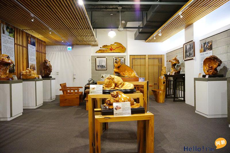 龍井景點,希諾奇檜木博物館-9