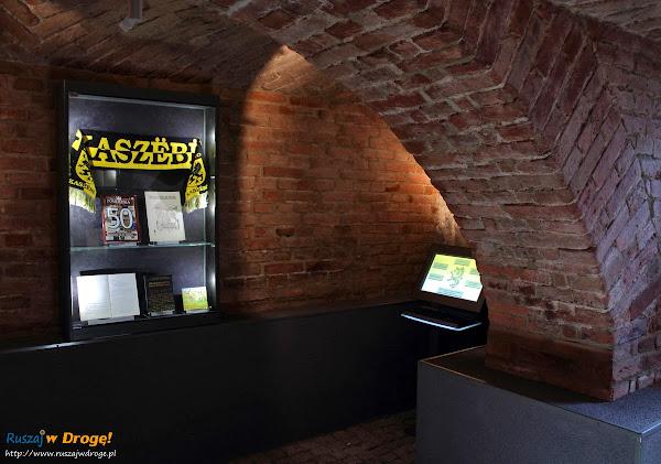 Muzeum Ziemi Kościerskiej - ekspozycja historyczna w podziemiach