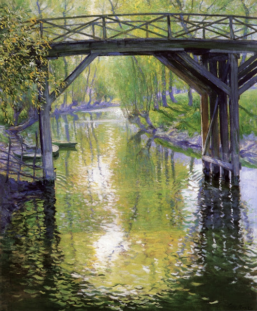 Guy Orlando Rose - The Old Bridge, France