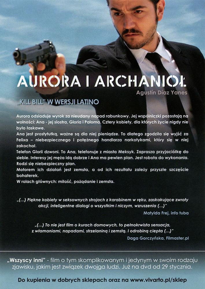 Ulotka filmu 'Aurora i Archanioł (tył)'