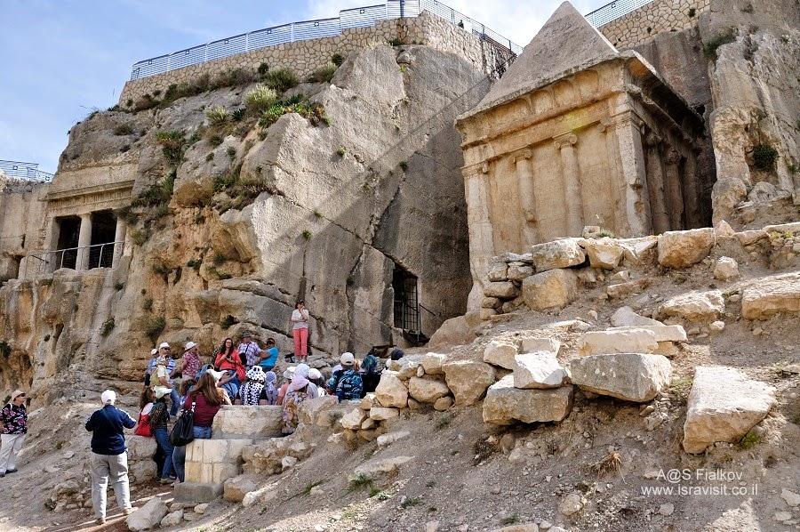 Гробница Авессалома, Масличная гора. Кедронская долина. Геенна огненная. Экскурсия по Иерусалиму. Гид в Иерусалиме Светлана Фиалкова.