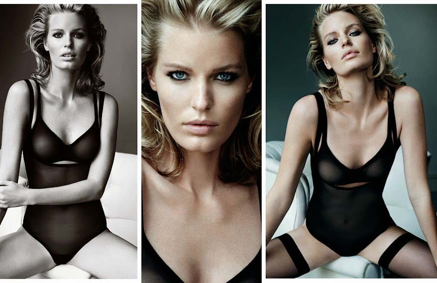 Wolford Tulle Lingerie, campaña OI 2014