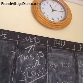 French Village Diaries Autumn Clock Change