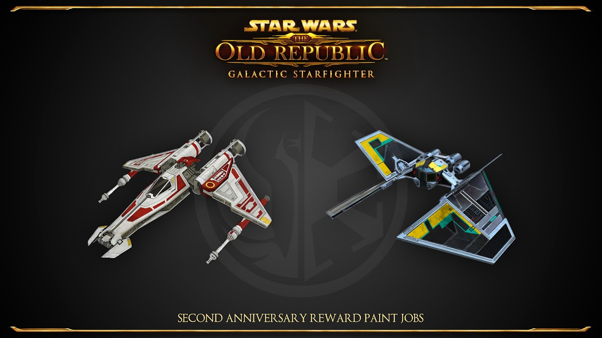 Second Anniversary Paint Jobs!
