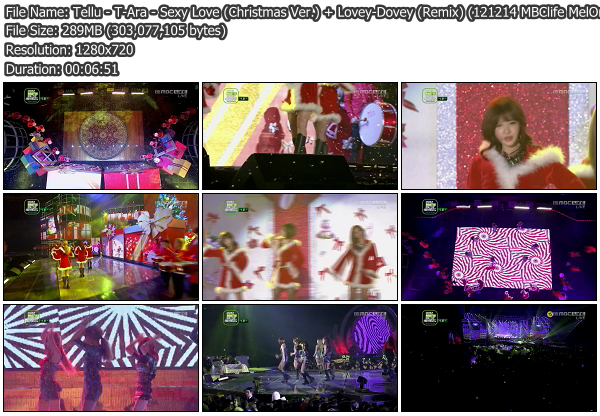 [Perf] T Ara   Sexy Love + Lovey Dovey @ MelOn Music Awards 121214