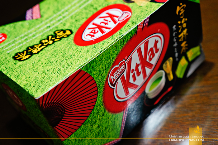 Green Tea-Flavored KitKat from Japan