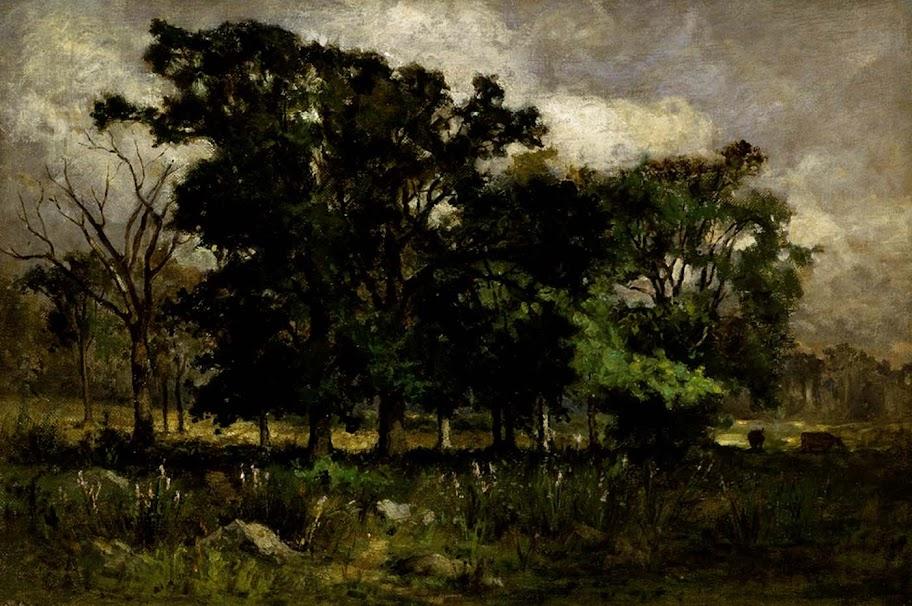 Edward Mitchell Bannister - Tree Landscape
