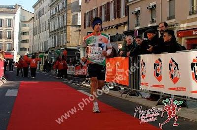 Marathon Beaujolais 2007 - arrivée