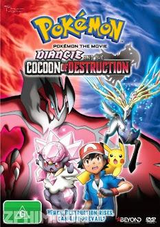 Diancie Và Sự Hủy Diệt Từ Chiếc Kén - Pokemon Za Mûbî XY: Hakai no Mayu to Dianshî (2014) Poster