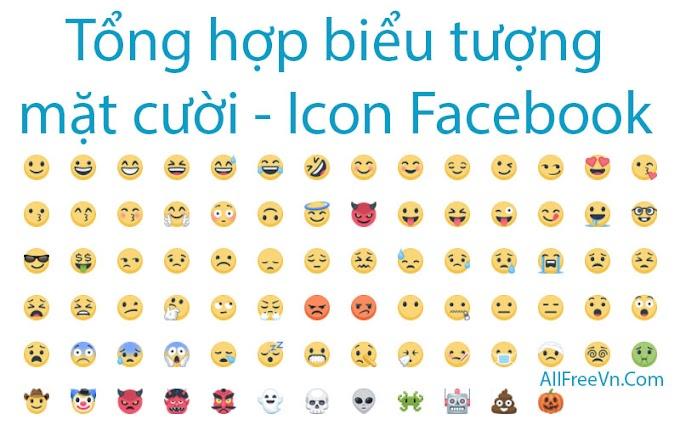 Tổng hợp biểu tượng mặt cười mới - Icon Facebook 2017