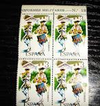 sellos  Uniformes militares nº 13
