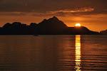 El Nido: coucher de soleil