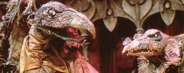 The decrepit Skeksis from Henson's The Dark Crystal (1982)
