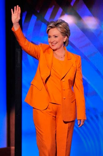 Hillary Clinton's pantsuits