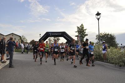 Courir pour des pommes 2011 - départ