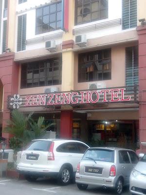 Zen Zeng Hotel, 2,4,6 * Jalan Tun Abdul Razak, Susur 1/1, 80100 Johor Bahru, JH, Malaysia
