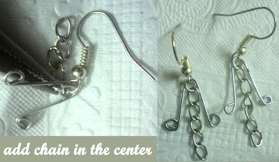 safety+pin+dangler+earrings2 Safety Pin Dangler Earrings 5 Minz Tutorial