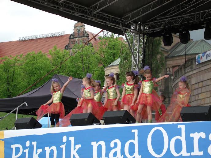 Hauptbühne vor der Hakenterrasse - Picknick an der Oder 2013 (Foto: A. Schwarze)