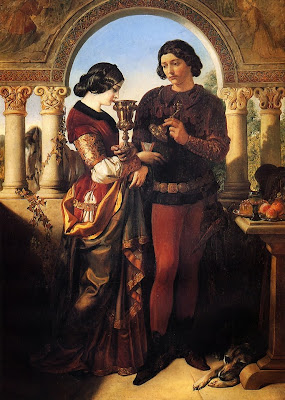 Daniel Maclise - The Loving Cup