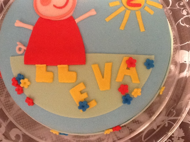 Cake sisters torta peppa pig