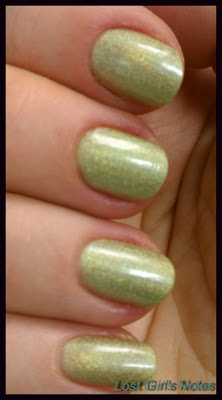 china glaze laser lime swatches and review
