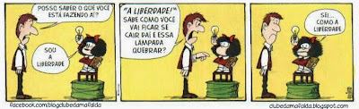 Clube da Mafalda:  Tirinha 712
