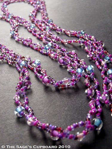 Cotton Candy Chain Necklace