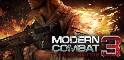 Download Modern Combat 3 Fallen Nation apk