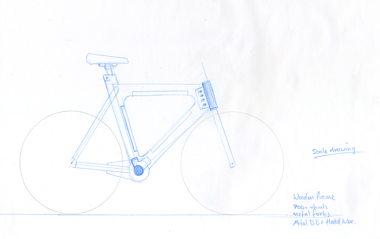 Building a wooden bike.: March 2011