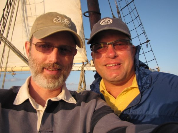 Frank and Me Sailing in Key West