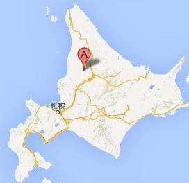 第20回幌加内町新そば祭り・地図