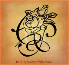 PC tattoo rose