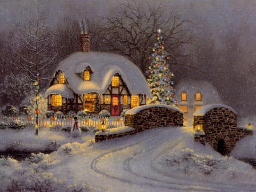 Animierte Weihnachtsbilder.6 Weihnachtsbilder Landschaften Gif Sammlungen Weihnachten Advent 3
