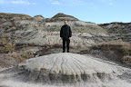 Dad in the Badlands