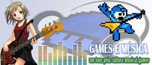 Games e músicas