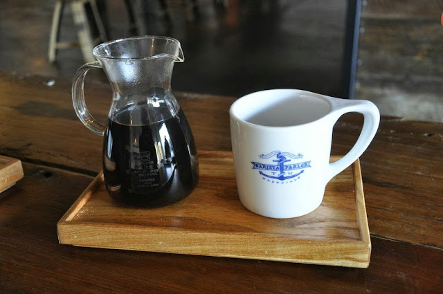 Barista Parlor coffee and carafe
