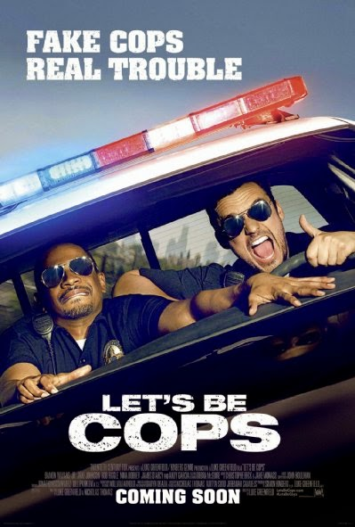 Poster Of English Movie Let's Be Cops (2014) Free Download Full New Hollywood Movie Watch Online At alldownloads4u.com