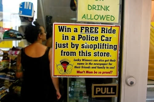Win A Free Police Car Ride